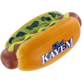 Hot Dog Stress Toy for your School