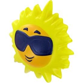 Custom Hot Sun Stress Toy