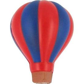 Branded Hot Air Balloon Stress Ball