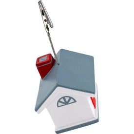 Personalized House Memo Holder Stress Ball