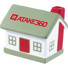 House Stress Squeeze Imprinted with Your Logo