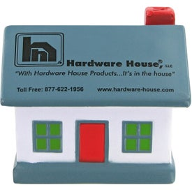 Promotional House Stress Toy