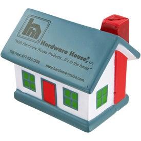 Custom House Stress Toy
