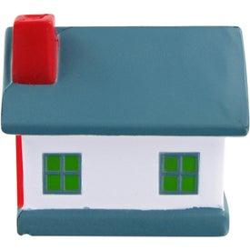 Logo House Stress Toy