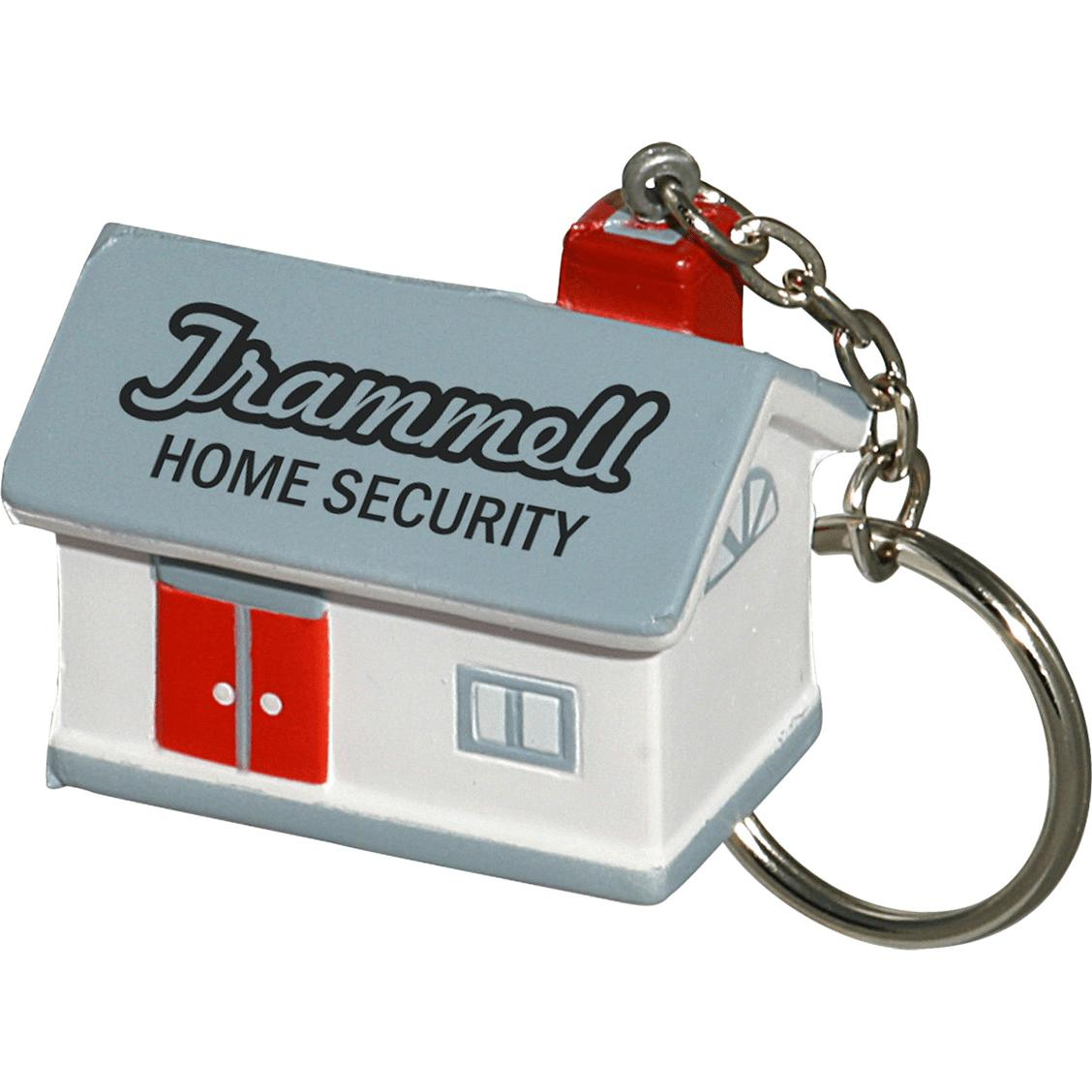 House Stress Ball Key Chain