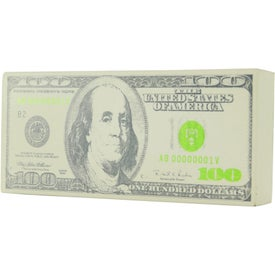 Imprinted Hundred Dollars Stress Toy