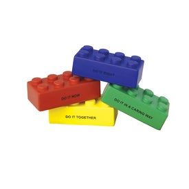Advertising Building Block Stress Balls