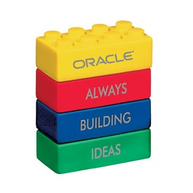 Promotional Building Block Stress Balls