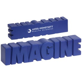 Personalized Imagine Word Stress Ball