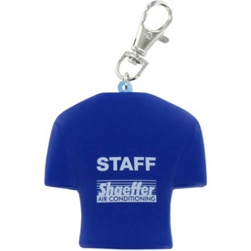 Company Jersey Key Chain Stress Ball