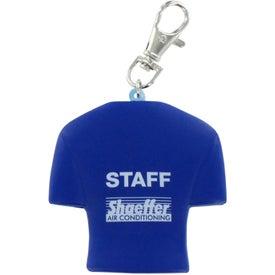 Company Jersey Key Chain Stress Ball