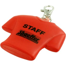 Advertising Jersey Key Chain Stress Ball
