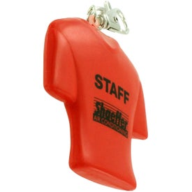 Jersey Key Chain Stress Ball Imprinted with Your Logo