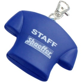 Jersey Key Chain Stress Ball with Your Logo