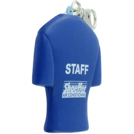 Jersey Key Chain Stress Ball for Customization