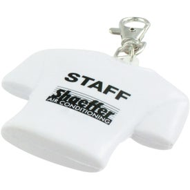 Personalized Jersey Key Chain Stress Ball