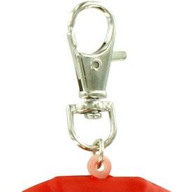 Monogrammed Jersey Key Chain Stress Ball