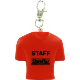 Custom Jersey Key Chain Stress Ball