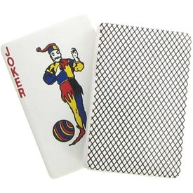 Printed Joker Playing Card Stress Reliever