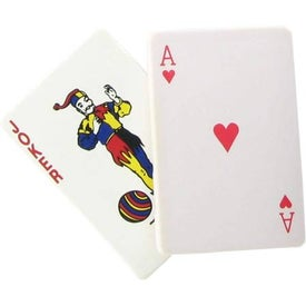 Company Joker Playing Card Stress Reliever