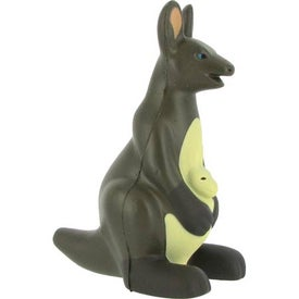 Kangaroo Stress Ball with Your Slogan