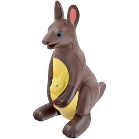 Branded Kangaroo Stress Ball