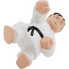 Karate Man Stress Ball with Your Logo
