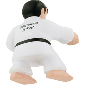 Customized Karate Man Stress Ball