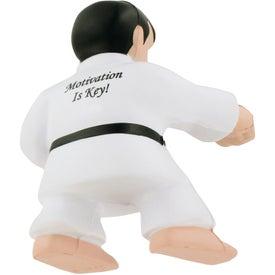 Customized Karate Man Stress Ball