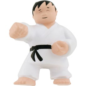 Karate Man Stress Balls