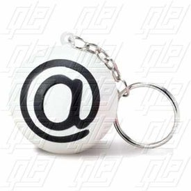 @ Symbol Key Chain Stress Ball