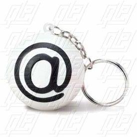 @ Symbol Key Chain Stress Ball