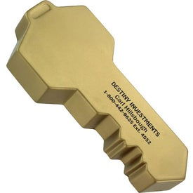 Key Stress Ball (Gold)