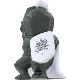 Knight Mascot Stress Ball Branded with Your Logo