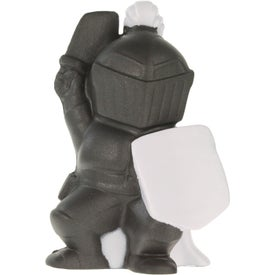 Advertising Knight Mascot Stress Ball