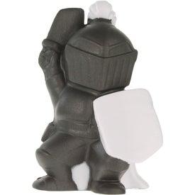 Advertising Knight Mascot Stress Ball