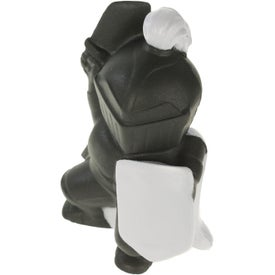 Knight Mascot Stress Ball Printed with Your Logo