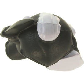 Knight Mascot Stress Ball with Your Slogan