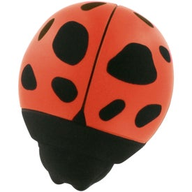 Custom Lady Bug Stress Reliever