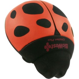 Lady Bug Stress Reliever for Advertising