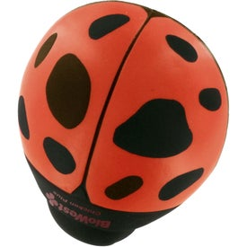 Personalized Lady Bug Stress Reliever