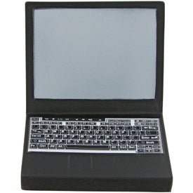 Laptop Computer Stress Toy Imprinted with Your Logo