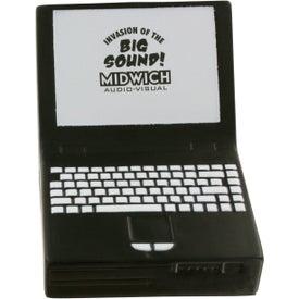 Logo Laptop Computer Stress Ball