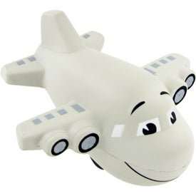 Large Airplane Stress Toy with Your Slogan