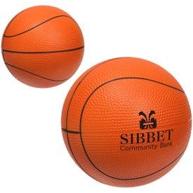 Large Basketball Stress Ball