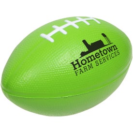 Large Football Stress Ball with Your Logo