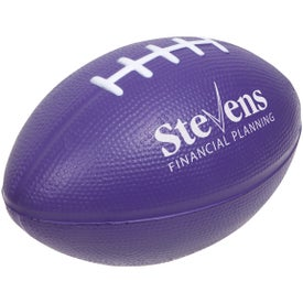 Large Football Stress Ball Giveaways