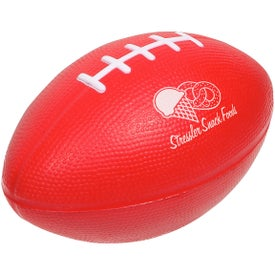 Company Large Football Stress Ball