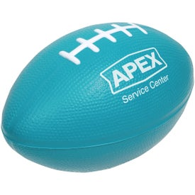 Branded Large Football Stress Ball