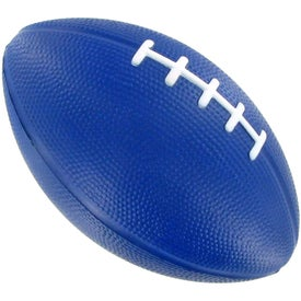 Printed Large Football Stress Ball